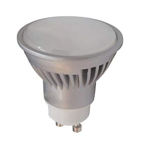 LED ATOMANT, S.L. Pack 5x GU10 Led 7w REGULABLE. Color Blanco Frío (6500K). 680 Lumenes. Angulo 120 grados. A++