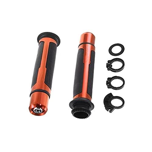 MANYUAN Poetry Department Store Motorycle Anti-Skid Mango Grip Moto Cafe Racer Manillar Partbar Fit para Kawasaki Z1000 Z650 Z900 Z800 Z250 Z300 Z400 Z 750 (Color : Orange)