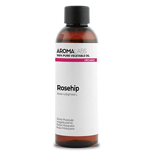 Aroma Labs BIO - Olio di Rosa Mosqueta, garantito 100% puro, naturale e spremuto a freddo