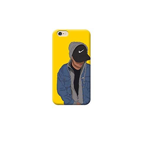 TheBigStock Cover Custodia per Tutti Modelli Apple iPhone x 8 7 6 6s 5 5s Plus 4 4s 5c TPU - AR13 Ragazzo con Cappello Nike, iPhone 8