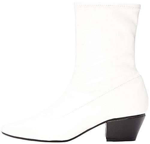 find. Botas de Puntera para Mujer, Blanco (White), 41 EU