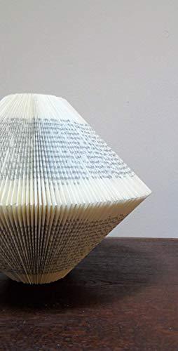 Deko Vase aus altem Buch - 2