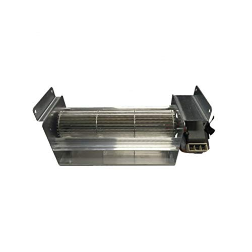 Xodo Store Ventola tangenziale Lunghezza Totale 383 mm, Dimensioni Bocchetta 283x44 mm, per stufe a Pellet Edilkamin