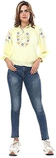 M.Sou Blouses Three Quarter Sleeve Mixed Neck SizeFor Women