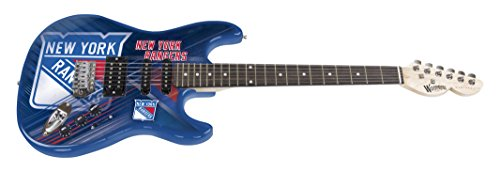 Woodrow Guitar by The Sports Vault NHL New York Rangers Northender Electric Guitar