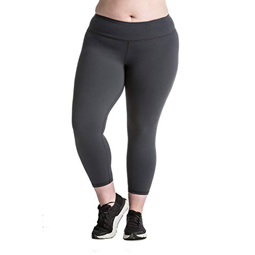 Lola Getts Plus Size Non-Sheer 7/8 Leggings