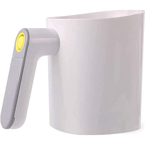 Melsifter, elektrisk handhållen mjölsiftsikt för bakning av mandelmjöl och pulveriserat socker, baksifter med 20 mesh rostfritt stålsil Ergonomiskt handtag