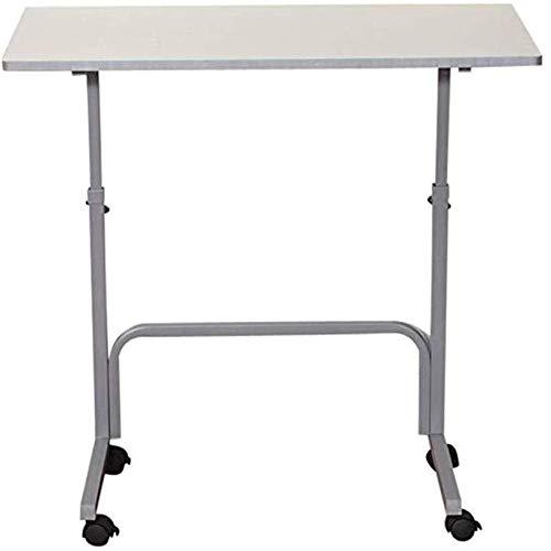 Draagbare kleine salontafel, gemakkelijk afneembare, draagbare laptop, schrijftafel, bureau, eenvoudige slaapbank, faul ontbijtdienblad, draagbare, verstelbare houder, bewegend bed bureau comp
