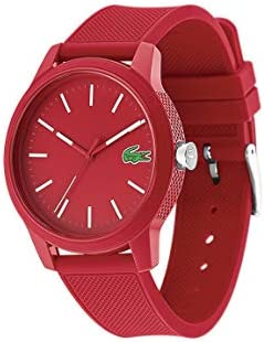 Lacoste Men's L.12.12.Quartz TR90 and Rubber Strap Casual Watch (Model: 2010988) WeeklyReviewer