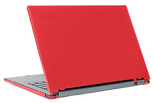 mCover Yoga-C940 - Carcasa rígida para Lenovo Yoga C940 (14', no compatible con Yoga 900/910/920/C930), color rojo