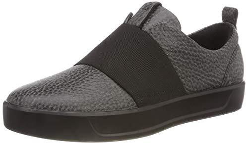 ECCO Damen Soft 8 Ladies Sneaker, Schwarz (Black 1001), 40 EU