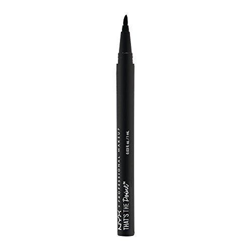NYX Professional Makeup That's The Point Eyeliner - Eyeliner-Kollektion mit 7 tiefschwarzen...