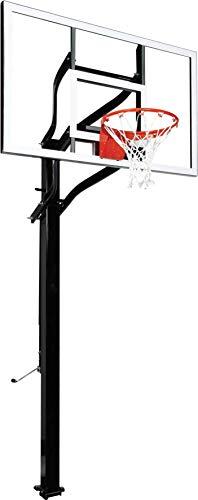 Goalsetter X560 Extreme Series Basketball System - 60-Inch Glass Backboard - 5