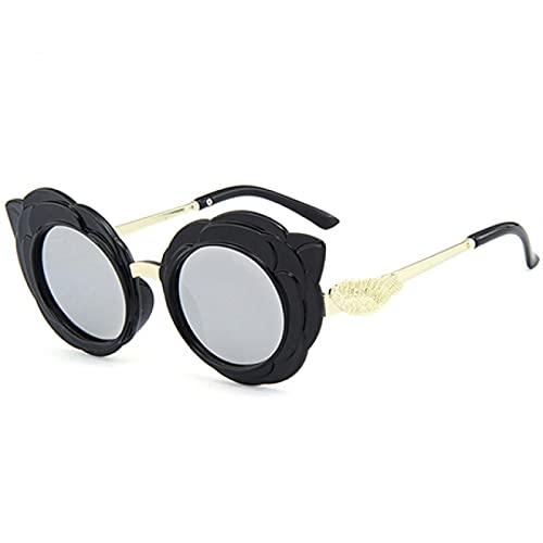 ShZyywrl Gafas De Sol Mango Round Cute Gafas De Sol para Niños para Niño Niña Lovely Baby Glasses Rd75-3