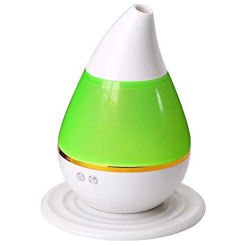 Befeuchter USB-Kabel Mini-Wasser-Tröpfchen für zuhause, Yoga, Büro, SPA, (Color : Green)