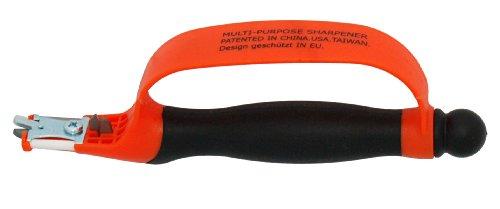 Zenport KS06 6-in-1 Multi-Sharpener for Pruners/Scissors and Knives, 8-Inches Long