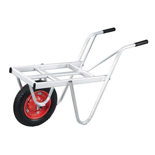 本宏製作所 アルミ製 一輪車 コンテナ1個載せ YT-1