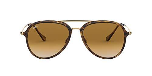 RayBan RB4298 Aviator Sunglasses Light Havana/Brown Gradient 57 mm