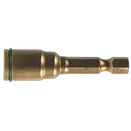 MAKITA B-28575 B-28575-Llaves de Vaso para atornilladores de 9.6x50 mm con Anilla, 0 V, Negro