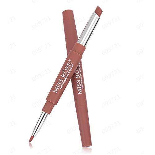 SHE.White Neue Double End Multifunktions Lippenstifte Lipliner Wasserdicht Lip Liner Stick Bleistift...