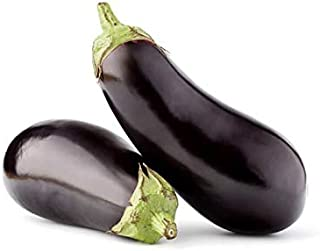 Eggplant Long GCC | Mild & Tender | Slightly Sweet & Healthy | Rich Meaty Taste | Great Source Of Fibers & Vitamins | Prem...