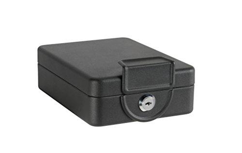 Arregui C9327 Caja de Caudales con Estructura para Fijar bajo mesa o balda, Negro