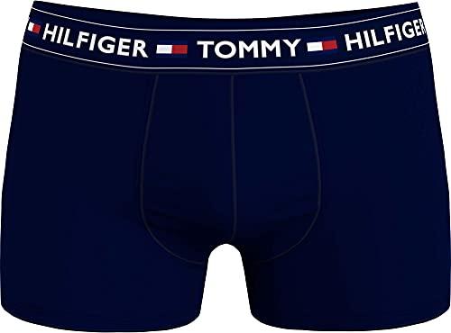 Tommy Hilfiger Trunk Bañadores Ajustados para Hombre, Cielo del Desierto/Htr, S-M