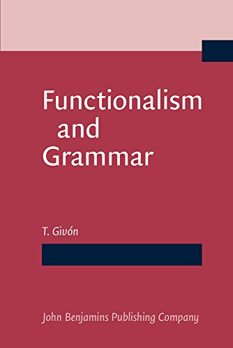 Functionalism and Grammar