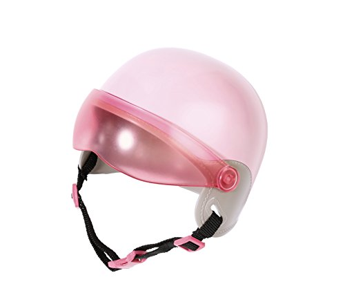 Zapf Creation 825914 BABY born City Scooterhelm Puppenzubehör 43 cm, rosa