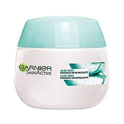 Ofertas Tienda de maquillaje: Equilibra, hidrata y alisa Crema de rápida absorción Para pieles normales y mixtas Testado dermatológicamente Con gel de Aloe Vera