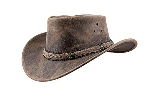 Black Jungle ARAMAC - Sombrero de vaquero de piel, charcoal, M
