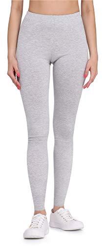 Bellivalini Damen Lange Leggings aus Viskose BLV50-147 (Melange, XL)