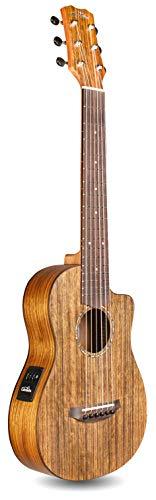 Cordoba Mini O-CE, Ovangkol, Small Body, Acoustic-Electric Nylon String Guitar with Gig Bag