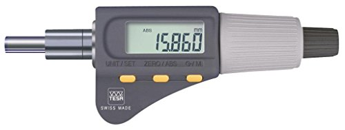 Tesa 06030039MicroMaster micrómetro Head, 30mm/0mm Rango de medición