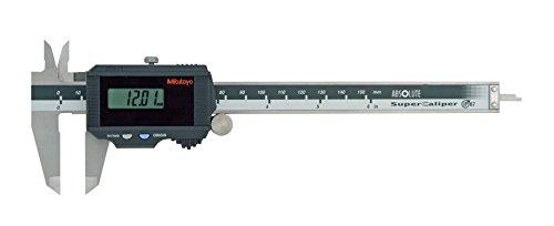"""Mitutoyo 500–784Serie 500solarbetrieben Super Bremssattel, -0.02mm/+/-.001""""Genauigkeit, 0cm-6""""/0mm-150mm"""