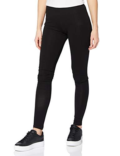 PIECES Damen Pcedita Long Noos Leggings, Schwarz (Black Black), L EU