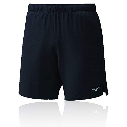 Mizuno Core 7.5 Short Pantalón Corto, Hombre, Black, XL