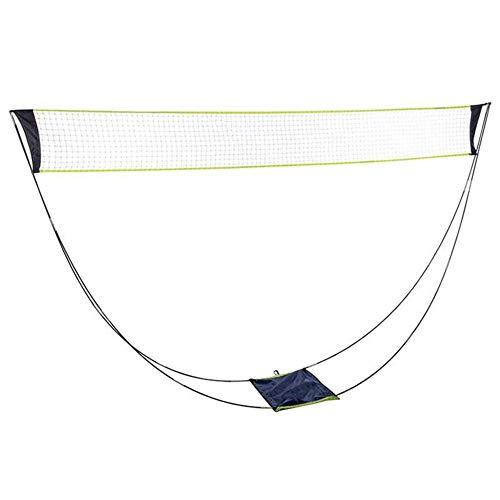 Mooyod Tragbar Badminton Netz Halter Leicht Faltbar Netz Rack für Jeden Oberfläche