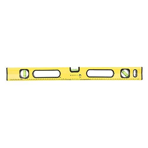 Blazen liniaal waterpas, 600 mm geel hoge precisie magnetische aluminiumlegering tester