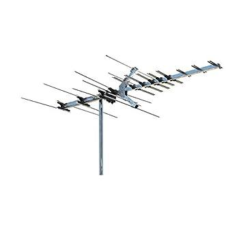 Winegard Platinum Series HD7694P Long Range TV Antenna  Outdoor / Attic 4K Ultra-HD Ready ATSC 3.0 Ready High-VHF / UHF  - 45 Mile Range HD Antenna