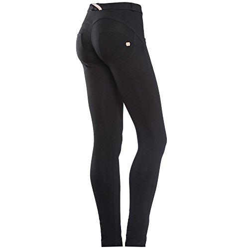 Freddy–wrup Snug, Jeans Skinny Damen, Damen, F7-CWRS-WRUP1RC01E, Nero (Nero N0), 38 (Taglia produttore:M)