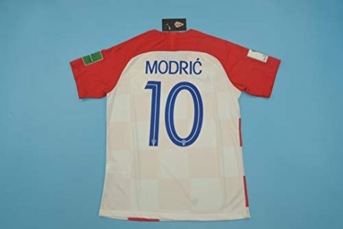 ZA Luka Modric CRATIA Home Retro Trikot WORLDCUP 2018 Size L