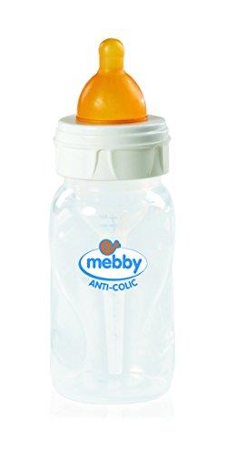 Mebby 92613 Step 1+2 Biberon avec système anti-colique.