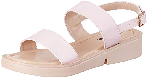 Flavia Women's Pink Fashion Sandals-4 UK (36 EU) (6 US) (FL-11/PNK/04)