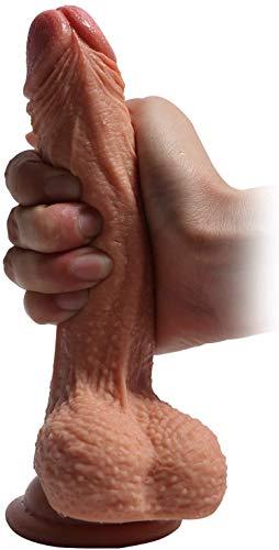 7.5' Dọublè Sịded Ðǐllọ fõr Wõmén Lèśbǐạn Hands Free Dọublè Hèaded Ðịldo Dọublè Endèd Ðịl`dɔ Pẹnịs Stịck for Mén Gạy Cǒuplè Ánạl Šèx Toy