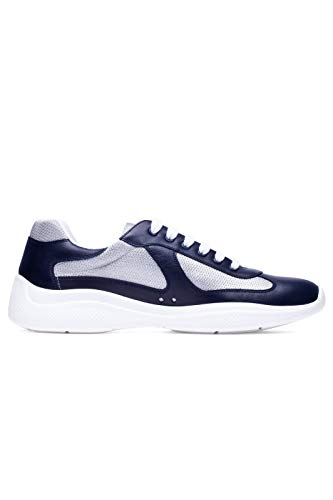 Prada Luxury Fashion Uomo 4E34006GWF0W4C Blu Poliammide Sneakers | Stagione Permanente