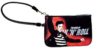 Elvis Presley Wristlet Licensed Tech Handbag Multi