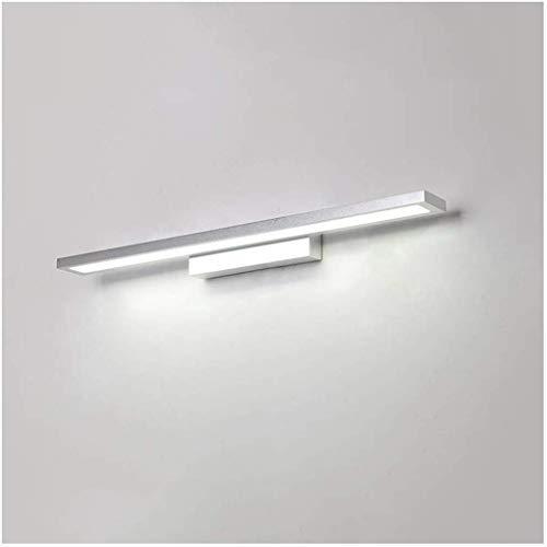 Spiegellamp badkamer armatuur make-up spiegel spiegelkast waterdicht anti-condens-wandlamp Rollsnownow (kleur: warm wit, maat: 90 cm)