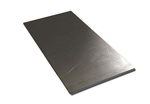 RMP Knife Blade Steel - 1095 High Carbon Annealed Steel, Knife Making Billet, 6 Inch x 12 Inch x 0.187 Inch