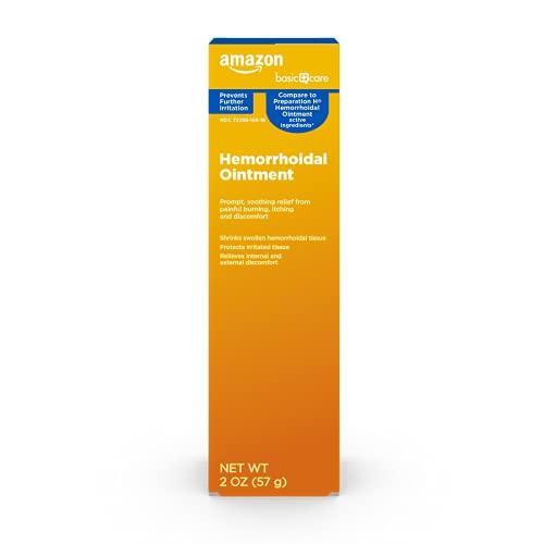 Amazon Basic Care Hemorrhoidal Ointment,...